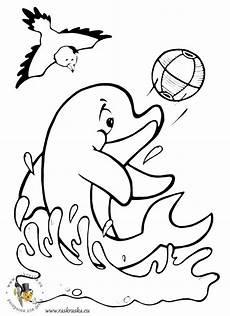 Ausmalbilder Zum Ausmalen Im Delfin Malvorlagen Kostenlos Zum Ausdrucken Ausmalbilder