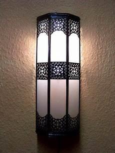 Moroccan Wall Lights Amazon Oriental Moroccan Glass Wall Lamp Rihana White Amazon Co