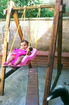 toddler swing set use 2x4 s nails and any swing you want to make your