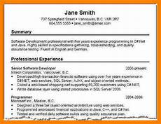 A Good Summary For A Resume Resume Summary Examples