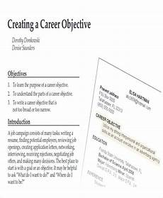 Objectives For Applying A Job Free How To Write A Attention Grabbing Career Objective
