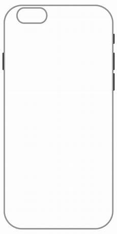 Printable Iphone 6 Case Template Mobile Back Cover Outline Nishant Arora
