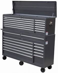 wen 66 in 24 drawer tool chest and cabinet combo