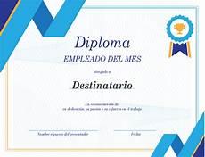 Formato Reconocimiento Empleado Del Mes Certificados Office Com