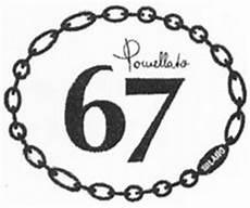 pomellato spa pomellato 67 trademark of pomellato s p a serial