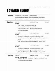 basic job resumes 30 basic resume templates