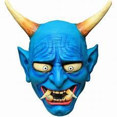 Setsubun Mask Acomes Blue Demon Setsubun Oni Oni Mask Blue Square