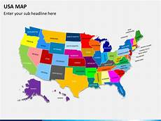 Us Map Ppt Powerpoint Usa Map Sketchbubble