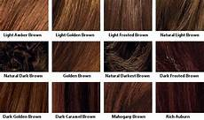 Loreal Hair Color Chart Hairstyles 30889