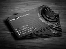Photography Business Cards Templates Photographer Business Card By Owpictures Graphicriver