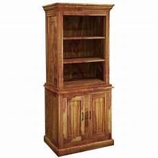 idaho modern solid wood standard bookcase storage cabinet