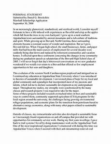 Personal Statement Essay Example For College College Personal Statement Examples Personal Statement