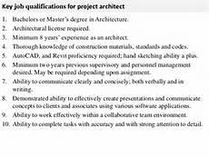 Architecture Project Description Project Architect Job Description