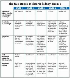 Ckd Stages Chart Stages Of Chronic Kidney Disease Phosphate Control In