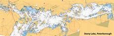 Lesser Lake Depth Chart Composite Depth Chart Of Stony Lake I Made Happy Ice