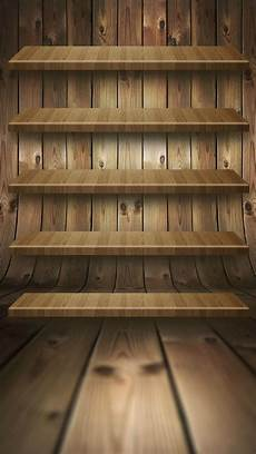 Shelf Wallpaper Iphone 7 by 3d Wood Perspective Shelf Iphone 6 Plus Hd Wallpaper