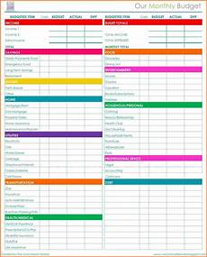 Budget Monthly Bills 5 Bills Budget Spreadsheet Excel Spreadsheets Group