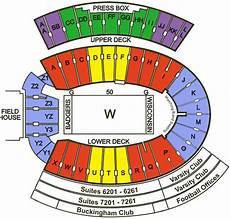 Wisconsin Badgers Seating Chart Camp Randall Stadium Seating Chart Google Search