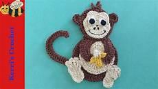 crochet applique crochet applique tutorials crochet monkey