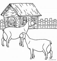 free printable farm animal coloring pages for