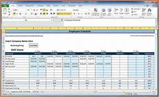 Employee Spreadsheets 4 Employee Schedule Excel Spreadsheet Excel