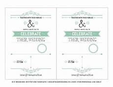 Wedding Invitation Downloads Free Wedding Invitation Template Mountainmodernlife Com