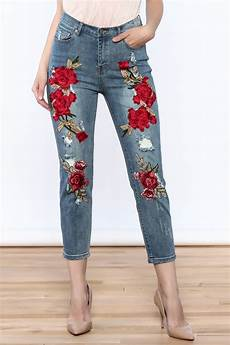 embroidery denim emory park embroidered denim from new york by dor l