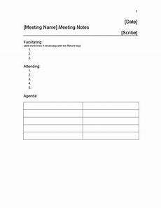 Meeting Notes 26 Handy Meeting Minutes Amp Meeting Notes Templates
