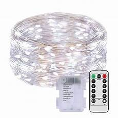 Battery Operated Led Lights With Remote 35 Off 100 Led String Fariy Lights Battery Operated