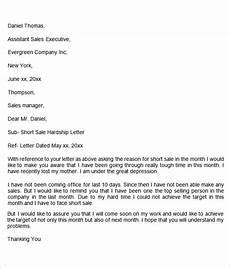 Sample Of Hardship Letter Free 8 Sample Hardship Letter Templates In Ms Word Pdf