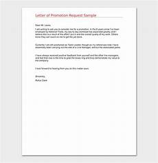 Requesting For Promotion Promotion Request Letter 12 Sample Letters Amp Format