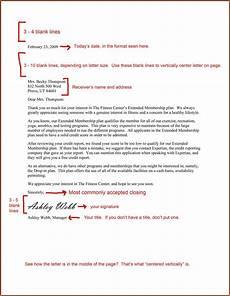 Image Result For Business Letter Business Letter Format