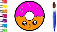 como desenhar um donut fofos passo a passo desenhos para