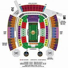 Pittsburgh Steelers Stadium Seating Chart Ticket Prices And Levels For Pittsburgh Steelers Home Games