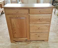 amish made delux tilt out trash bin cabinet