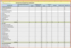 Renovation Budget Template Free 5 Home Renovation Spreadsheet Excel Spreadsheets Group