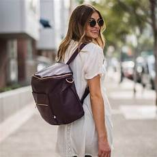 Fawn Designs Brand New Fawn Design Plum Diaper Bag On Carousell