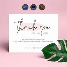 Business Thank You Cards Templates Thank You Cards Templates Printable Customer Thank You
