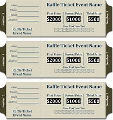 Numbering Tickets In Word How To Ticket Numbers In Word Document