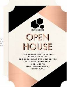 Business Open House Invitation Business Stationery Business Cards Amp Promotional Products