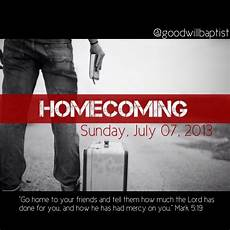 Church Homecoming Theme Ideas Homecoming Church Announcement Using A Photo From