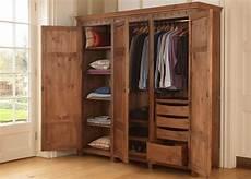 luxury 3 door wardrobe in solid wood handmade in the uk