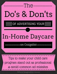 Home Daycare Ads Advertising Tips For Home Daycare With Images Family