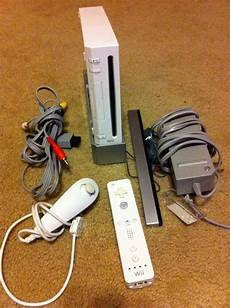 buy nintendo wii console nintendo wii white console ntsc works great w remote