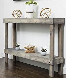 Rustic Wood Sofa Table 3d Image by Rustic Luxe Large Wooden Sofa Table By Hutson Designs
