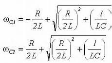 Band Pass Filter Equation Band Pass Filters