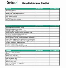 House Maintenance Checklist The Ultimate Home Maintenance Checklist Printable