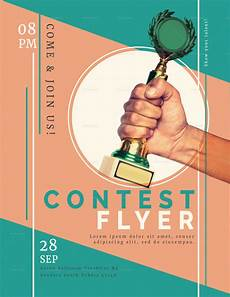 Free Publisher Flyer Templates Prize Contest Flyer Design Template In Psd Word