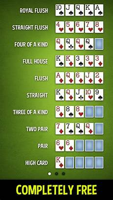 Poker Hand Ranking Chart Poker Hands For Android Apk Download