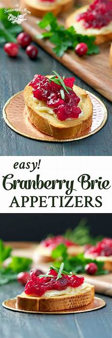 easy cranberry brie appetizers the seasoned